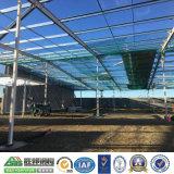 Celeiros pré-fabricados de construção da construção de aço para a vertente da oficina do armazém