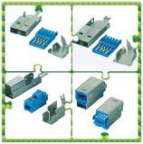 USB 3.0 Schakelaar van het Type van Soldeersel van B de Mannelijke Slanke voor het Systeem van de Levering van de Macht