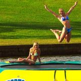 좋은 가격 팽창식 물 Trampoline 팽창식 호수 물 게임 팽창식 물 공원은 팽창식 수영장 게임을