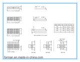 Контакты 2~401,27 мм типа DIP-контактный коннектор