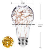 Lampadina della stringa decorativa della lampadina 2Watt del Edison dell'annata A19, lampeggiamento multicolore