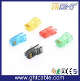 CAT6 Gold-Plated Crystal Reports для головы/разъемы RJ45