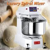 100kg misturador luxuoso da espiral do pão da farinha 260L para a casa da padaria