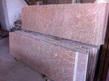 Lavabo de marbre rouge de marbre de tuile de veine d'agate rouge de marbre