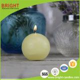 Vela bola de la vela Blanca de suave