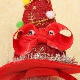 بالجملة رخيصة أطفال مجوهرات عيد ميلاد المسيح مزح قبّعة شعر شريكات