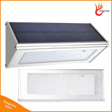 O Sensor do Radar Solar LiFePO4 Lâmpada de bateria da parede exterior da luz de LED de iluminação de 800 lumens