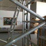 Échafaudage en aluminium approuvé de la CE sûre pour la décoration