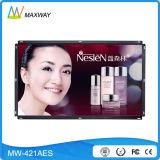 Schermo della pubblicità dell'affissione a cristalli liquidi del blocco per grafici aperto da 42 pollici (MW-421AES)