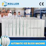Машина блока льда тонн Koller 10/дня Dk100 автоматическая сразу охлаждая для рыбозавода