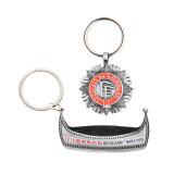 선전용 선물 기념품 금속 Keychains 주문 열쇠 고리