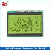 Visualización del módulo de 128*64 LCD con la visualización gris de Stn FSTN del contraluz del LED