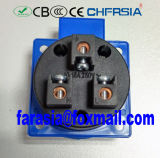 Socket industrial de fines generales de tipo europeo IP54 2p+E 10~16A