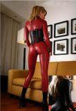 Женское нижнее бельё Jumpsuits Plus-Size выходу из натуральной кожи - Ds игровые костюмы
