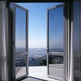 Portello moderno della stanza da bagno di vetro glassato