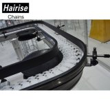 Tourner le flexible Hairise droites/convoyeur à chaîne pour les aliments et boissons l'industrie