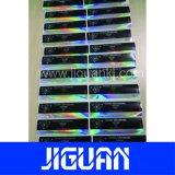 Conception personnalisée de la sécurité auto-adhésif 10ml hologramme Étiquette du flacon