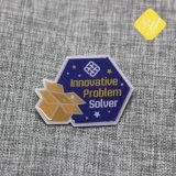 Medida de alta calidad profesional insignia de solapa