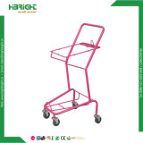 Chariot de supermarché fil Shopping Panier Panier en plastique