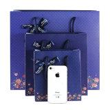 Bolso portable de la maneta del embalaje de la bolsa de papel de las bolsas de papel del regalo del asunto de manera