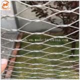 動物園動物のケージのための適用範囲が広いワイヤーロープの編まれた網