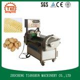 Kartoffelflocken und Schneiden Ausschnitt-Maschinen-des lockigen Chip-Scherblockes
