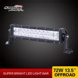 "LED Bar Offroad 트럭 13.5 "" 도로 LED 표시등 막대 떨어져 72W"