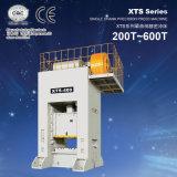 Imprensa de potência mecânica resistente aluída lateral reta de Xts única (200ton-600ton)