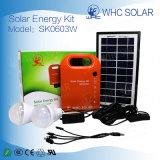 홈을%s Whc 태양 손전등 휴대용 3W 태양 에너지 가벼운 장비