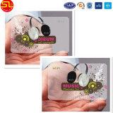 Cartão transparente Printable do PVC do Inkjet de OEM/ODM com painel de assinatura