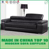 イタリアの現代本革のソファーはホームおよびオフィスのためにセットした