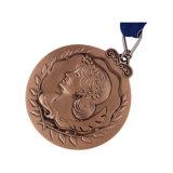 Glitter medalla de metal para regalo de recuerdo