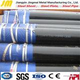 Lista stridente del ferro del tubo d'acciaio del carbonio di superficie nero del fornitore