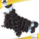 Aucun cheveu brésilien de Vierge de prolonge fausse de cheveux humains