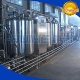 Terminar a linha de produção do leite para a venda