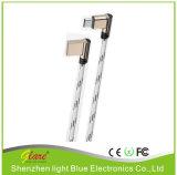 熱い販売携帯用Cのタイプ金属ヘッドジーンUSB Cの充満ケーブル