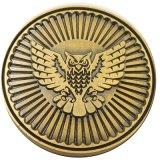 金属の金貨のコレクションをカスタム設計しなさい
