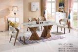Sala de jantar moderna sala de jantar mesa retangular Conjunto de mesa