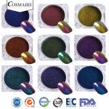Efecto de espejo de alta calidad Chameleon Chromashift Uña de pigmento en polvo