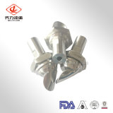 Estándar sanitario de los cortacircuítos de la espuma del acero inoxidable 304/316L del precio bajo