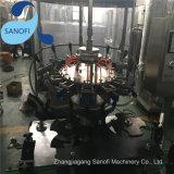 Линейное сбывание разливая по бутылкам завода воды
