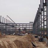 Structure légère en acier avec de l'entrepôt d'alimentation en brique de 2 mètres