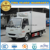 4X2 JAC kleines Kühlraum-Fahrzeug 3 Tonnen Gefriermaschine-LKW-
