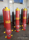 3 Cilinders van de Olie van de Koker van het stadium de Telescopische Hydraulische