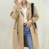 Nuovo cappotto esterno caldo del cappotto di polvere delle signore di vendita
