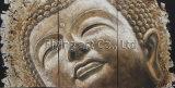 Décoration de maison de pétrole de Bouddha de peinture de groupe