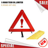 Triangolo d'avvertimento riflettente pieghevole per sicurezza stradale