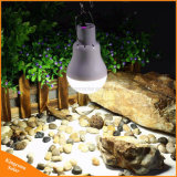 Luz solar al aire libre del jardín del proyector de la lámpara del bulbo del panel solar LED