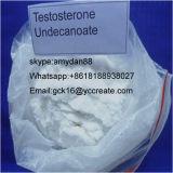 Testosterona esteróide Isocaproate do pó da hormona para o bodybuilding 15262-86-9