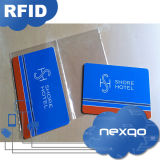 Scheda chiave dell'hotel di stampa RFID di Cmyk dell'incisione del laser di prezzi bassi con il chip